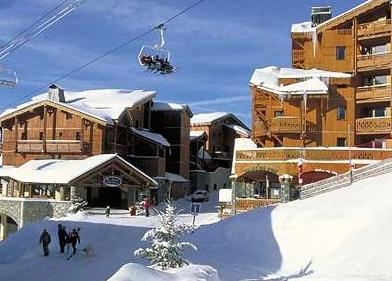 Ski appartementen in La Plagne